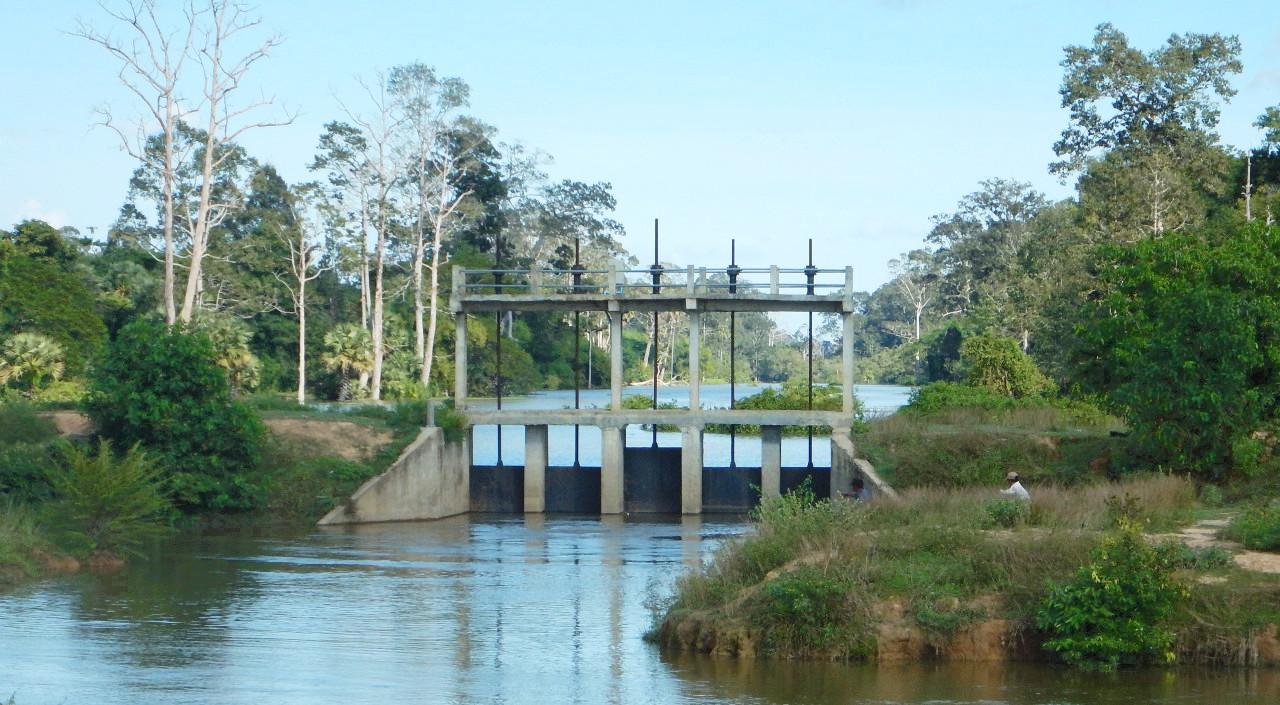 Ouvrages de régulation d'Angkor